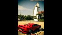Abandoned Cars in Dubai Ferrari, Lamborghini, Maserati