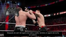 WWE 2K15 – Controles para PlayStation 4 y Xbox One