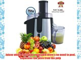 Vivo Powerful Professional 990W Whole Fruit Vegetable Juicer Extractor Black with Stainless