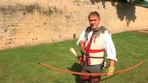 Comment tirer avec un arc long anglais traditionnel - English Arrow Longbow