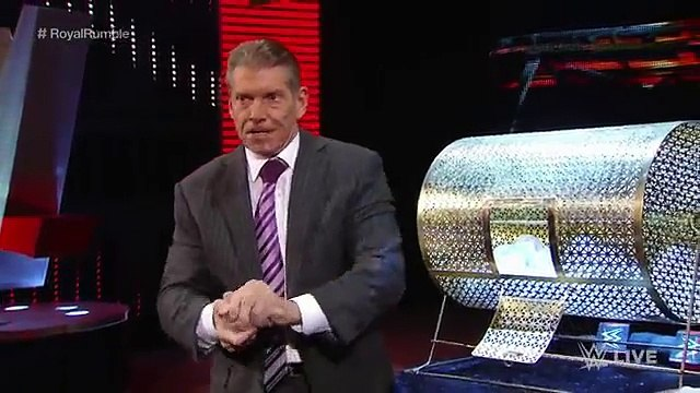 Wrestling News The McMahon family reveals the No. 1 entrant in the 2016 Royal Rumble Match January 28, 2016