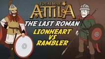 Total War Attila - The Last Roman - Part 5 - Visigoths v Ostrogoths!