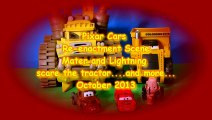 Pixar Cars with EVIL Mater ,Screaming Banshee, Colossus XXL ,Lightning McQueen, and a Dino