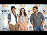 Deepika Padukone, Irrfan Khan & Shoojit Sircar Promote 'Piku'