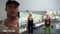 Sexy Body bekommen! Sexy Fitness Workout für Frauen straffe Arme KARL ESS.COM