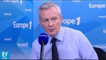 """Bruno Le Maire : """"Il vaut mieux donner un emploi qu'un chèque à un chômeur"""""""