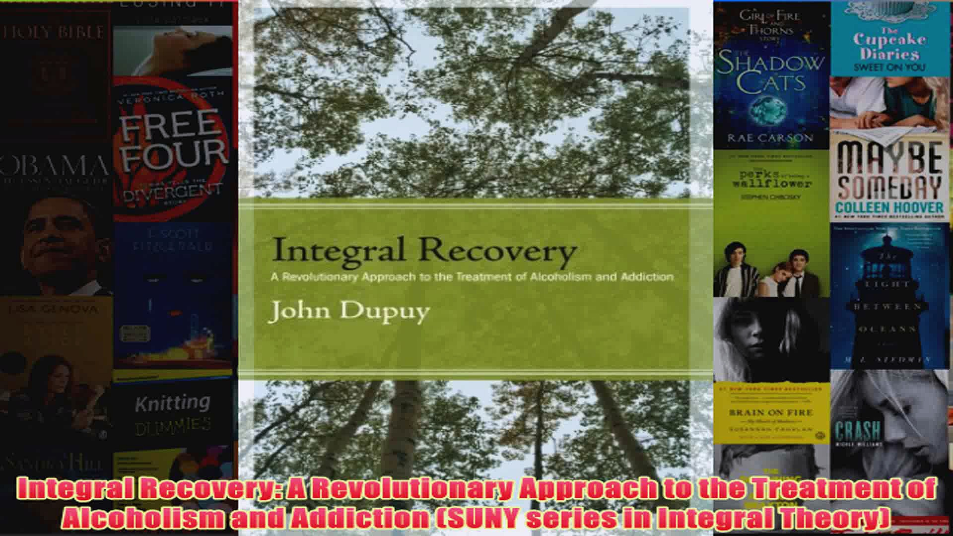 Download PDF  Integral Recovery A Revolutionary Approach to the Treatment of Alcoholism and Addiction FULL FREE