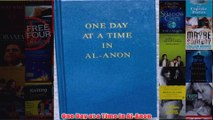 Download PDF  One Day at a Time in AlAnon FULL FREE