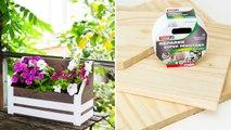 Fabriquer une jardinière en bois et sans clous