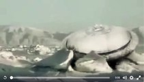 Flying Saucer in ice. Real or Fake ufo, ovni