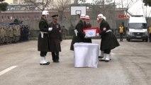 Diyarbakır Şehit Jandarma Uzman Çavuş Fazlı Altuntaş İçin Uğurlama Töreni Düzenlendi