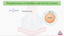 Weightlessness in Satellite and Gravity System