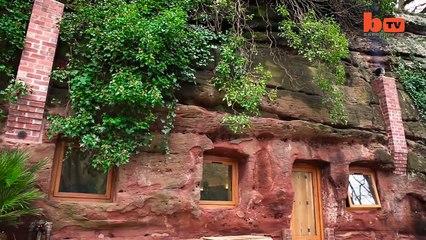 Casa de sonho numa caverna custou lhe 230 mil dólares