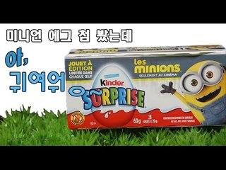 미니언 킨더초콜릿 서프라이즈에그  미니언즈장난감 미니언 피규어  MINION- limited edition Surprise Eggs toys ミニオン  миньон