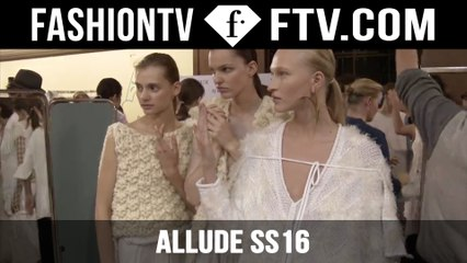 The Rise of Imperfection ALLUDE SS16 | FTV.com