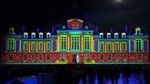 Spectacle Noel 2015 son et lumiere projection mapping video - eclipsonic les couleurs de la nuit