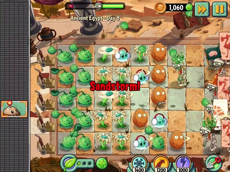 игра мультик приключеник овощи против зомби 2 игра египед часть 3 # 1