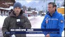 JT 12/13 Alpes de mardi 19 janvier - Avalanche de Valfréjus