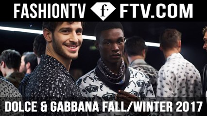 Dolce & Gabbana FallWinter 2017 Men's Collection | FTV.com