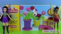 Pâte à modeler Vintage Play Doh Rose Garden Fées DSNY Fairies Jardin de fleurs ⓋⒾⒹéⓄ ⓋⒾⒹéⓄ