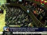 Consejo Nacional de Economía venezolano creará nuevo modelo productivo