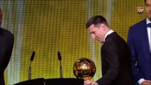 Ballon d'Or 2015 - Messi wins his 5th Ballon d'Or Balón de Oro 2015 - Messi gana su quinto Balón de Oro Ballon d'Or 201