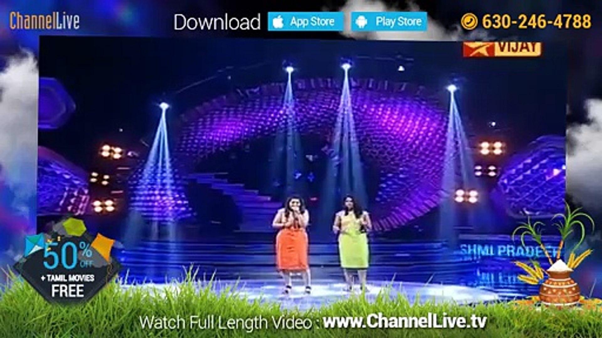 Super singer vijay tv - channellive tv