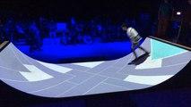 La rampe U combine electro et skate au Chabada