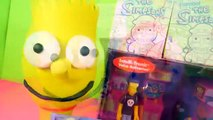 Play Doh Simpsons Bart + Homer Donut Surprise Eggs Noiseland Arcade Playset Lego Toys Playdough DCT