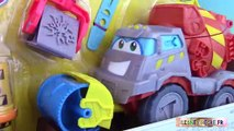 Pâte à modeler Super Camion Ciment Bétonnière Play Doh Max The Cement Mixer Truck Diggin R
