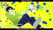 [HD] Top 15 Kagerou Project/Mekakucity Actors Songs v2 [ENG]