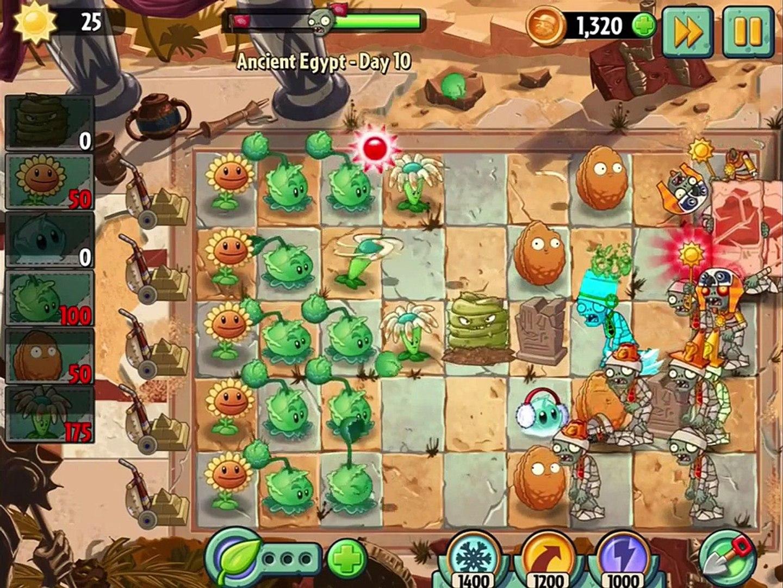 игра мультик приключеник овощи против зомби 2 игра египед часть 3 # 3