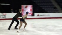 2016 CTNSC Junior Pairs Short Program - BRASSEUR/OSTIGUY