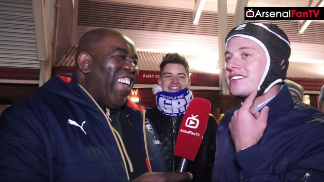 Fan In Petr Cech Hat Gives The Reasons Why Arsenal Will Win The League!! | Stoke 0 Arsenal 0