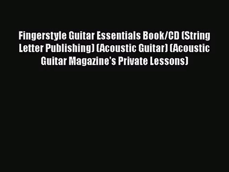 Fingerstyle Guitar Book