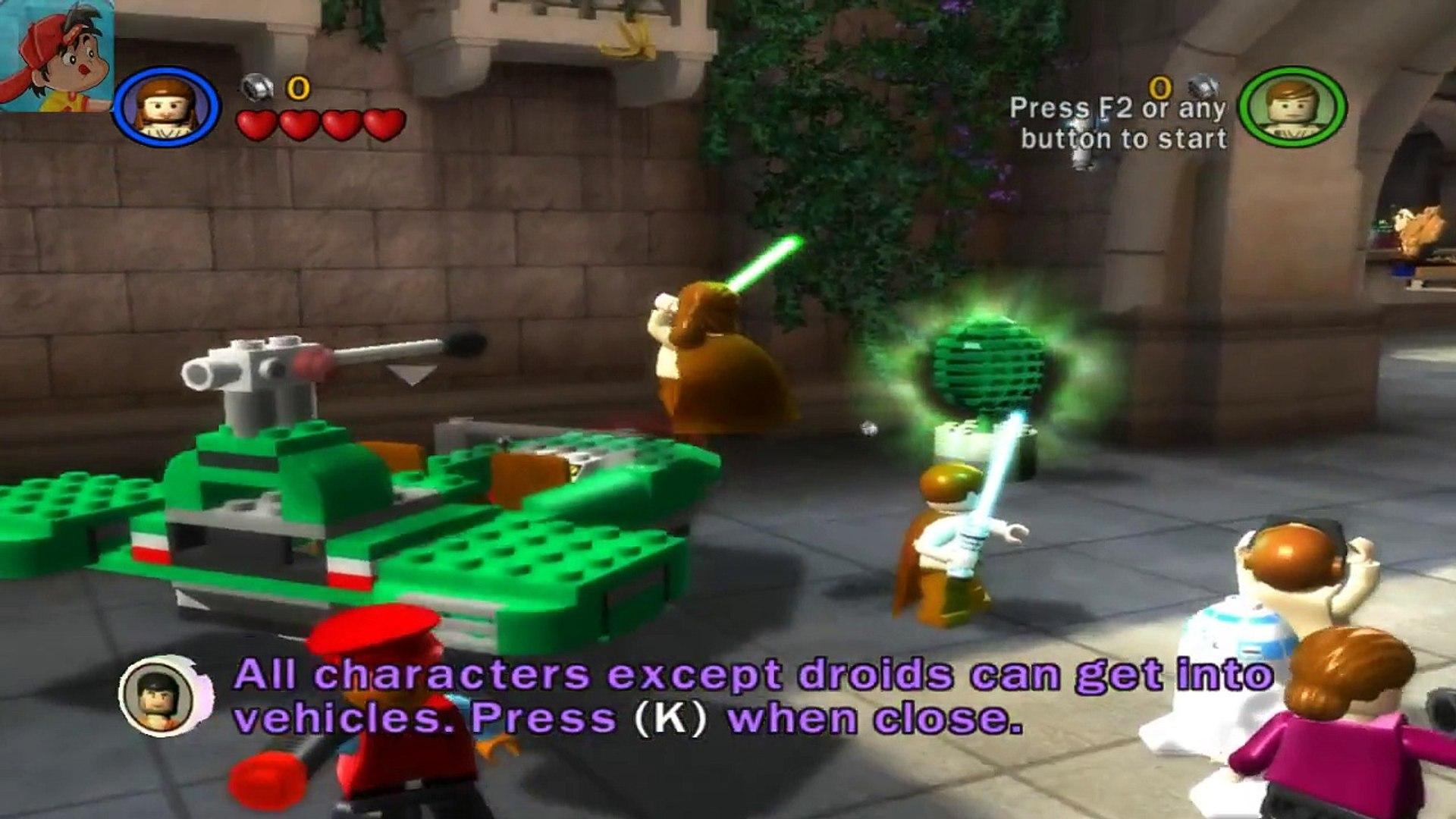 Lego Star Wars Saga Episode 1 Chapter 5 Kids Game Dailymotion Video