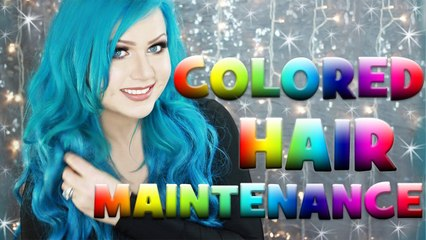 COLORED HAIR MAINTENANCE AT HOME - FOR PASTEL AND VIBRANT COLORED HAIR