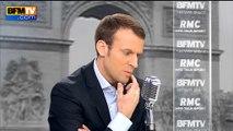"""Déchéance de nationalité: Hollande et Valls """"ont raison de défendre ce symbole"""" pour Macron"""