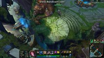 League of Legends gameplay   Fiora top vs Gangplank