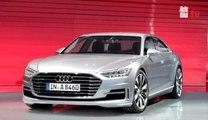 Nuevo Audi A8 2017, deportivo por fuera y muy conectado por dentro
