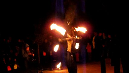 jongleur de feu