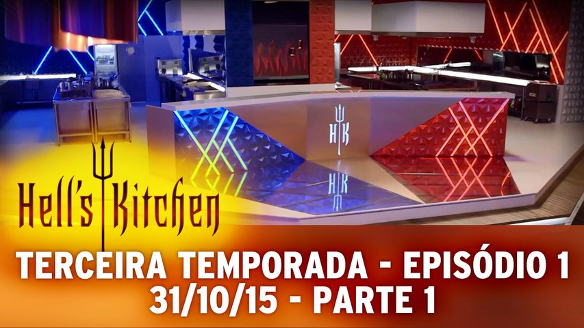 Hell's Kitchen 31.10.15 - Episódio 1 - Parte 1