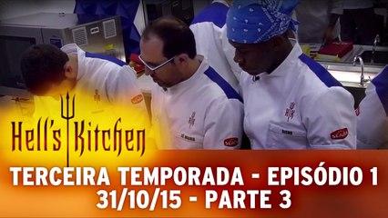 Hell's Kitchen 31.10.15 - Episódio 1 - Parte 3
