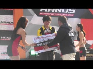 [21] Huh Yun Mi HoneyTV - Sexy racing model Hands motorsport festival the first competition
