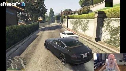 [2] 허윤미 GTA 5에 빠지다!(Grand Theft Auto 5) - 허윤미허니TV