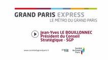 ITW - Jean Yves Le Bouillonnec sur le métro du Grand Paris - 2012