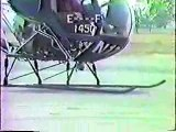 Helicopter Aviation - Civil - Crash-moron trying to fly helicopter (must see)