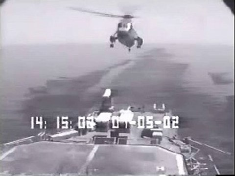 Helicopter Aviation - Military  Onboard Crash