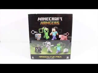 마인크래프트 서프라이즈 미스테리 박스 개봉기 - Minecraft Hangers Mystery Surprise Blind Bag Toy Review & Opening [ 또이 ]