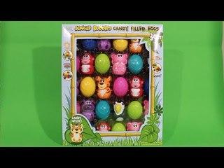 동물 에그 초콜렛 캔디 - animal egg mystery surprise open box [ 또이 ]